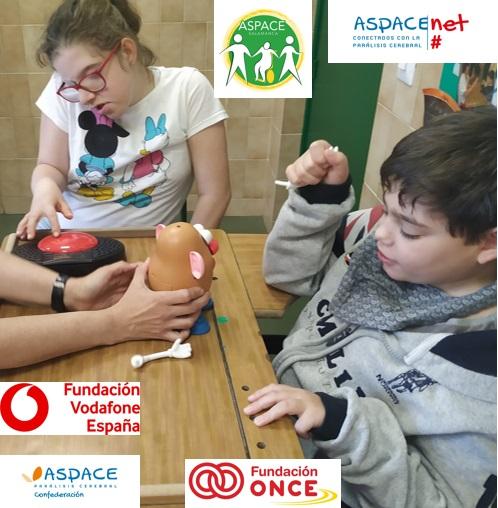 """""""Promoción de las TICs en el alumnado con parálisis cerebral y discapacidades afines""""."""
